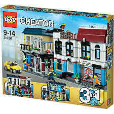 LEGO Creator 31026 Bike Shop & Cafe New (Retired) MISB