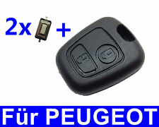 Remote control key housing for Peugeot 106 206 207 306 307 406 806+2 Push button