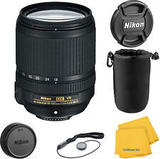 Nikon 18-140mm f/3.5-5.6G ED VR AF-S DX NIKKOR Zoom Lens with pouch kit