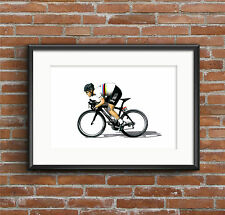 Mark CAVENDISH-TOUR DE FRANCE 2012 poster print format A1