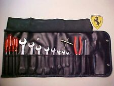 Ferrari Tool Kit_Roll Bag_Wrenches_Screwdrivers_Pliers_246 308 365 512 OEM Nice!