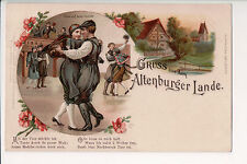 Vintage Postcard Panoramic Scenes of Duchy Sax Altenburg Germany