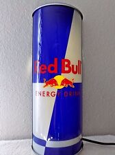 RED BULL LIGHTED CAN SIGN ENERGY DRINK BAR TAVERN PUB RESTAURANT CLUB MAN-CAVE