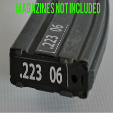 STICKERS for USGI METAL MAGAZINES .223 GREY NUMBERED 6-10
