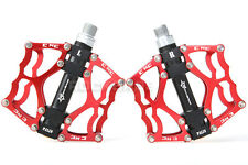 RockBros Bicycle Aluminum Pedal BMX Mountian Bike Pedals 2 Sealed Bearing Red