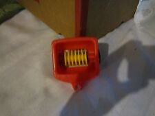 Fisher Price Little People Tractor wagon farm implement disk machine barn red