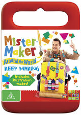 Mister Maker Around the World: Keep Making * NEW DVD *