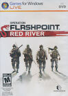 Operation Flashpoint RED RIVER - Shooter PC Game for Windows Live - BRAND NEW!