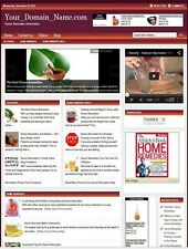 PROFESSIONAL HOME REMEDIES WEBSITE BUSINESS FOR SALE! with TARGETED SEO CONTENT