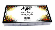 Xtreme Nail Tips Masterpack-NATURAL/SHALLOW WELL - 500pcs