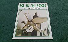 September 1979 / 1980 Model BUICK REGAL / CENTURY - CANADA CANADIAN BROCHURE