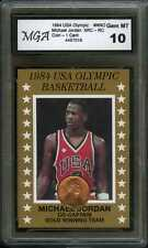 1984 1986 CENT PENNY USA OLYMPIC GOLD ** MICHAEL JORDAN ** XRC RC CARD GEM MINT!