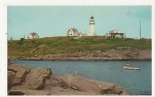 Two Lights Lighthouse & Cafe Cape Elizabeth Maine Old  Postcard USA 403a ^