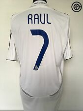 RAUL #17 Real Madrid Adidas Football Shirt Jersey 2006/07 (L)