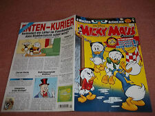 MICKY MAUS***COMIC***HEFT***NR.45 VOM 02.11.2012 + POSTER***!!!***
