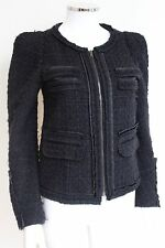 Maje noir loop aznavour jacket 38 uk 10