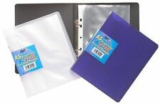 Tiger A5 slim ring binder + 10 punched pockets (single)