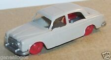 MICRO JOUEF HO 1/86 1/87 PEUGEOT 403 GRIS CLAIR ROUES ROUGE