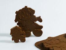 6+1 Dolls / Rag Doll Ragdoll Chocolate / Candy Silicone Mould ©SJK