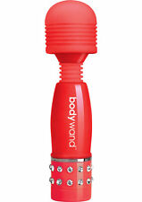 Bodywand Mini Love Edition Body Massager Red 4 Inch Body Massagers