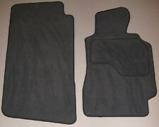 BMW Z4  2004 on GREY CARPET QUALITY CAR MATS with VELCRO PADS
