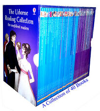 Usborne Reading Collection for confident readers 40 books box set - brand new