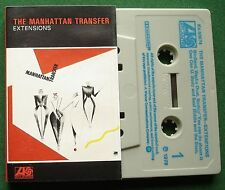 The Manhattan Transfer Extensions inc Birdland + Cassette Tape TESTED
