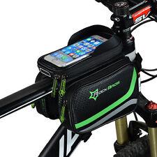 RockBros Fahrradrahmentasche Pannier Vorne Tasche Handytasche 6.2'' Zoll