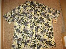 Croft & Barrow Hawaiian Shirt - Pineapple - Flower - Men's XL - Button Front NWT
