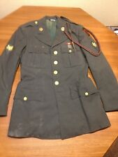 US ARMY DRESS UNIFORM WITH METALS AND PATCHES
