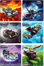 Skylanders Stickers x 6 - Birthday Party - Superchargers - Loot Bag Ideas