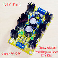 Class A Parallel Adjustable Regulated Power Supply DIY Kits output ±5V ~ ±20V D