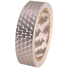 Tape Planet Small Engine Turn Silver 1 inch x 10  yards Metalized PVC Tape