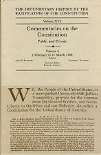 The Documentary History of the Ratification of the Constitution, Volume XVI: Com