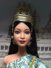 BARBIE DOLL NEW DEBOXED DOTW PRINCESS OF CAMBODIA COLLECTOR DOLLS OF THE WORLD
