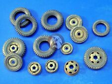 Verlinden 1/35 Tires, Wheels and Rims [Resin Diorama Accessory] 2484