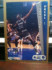 1992-93 Fleer Drake's Cakes Giveaway Shaquille O'Neal #37 Rookie Card