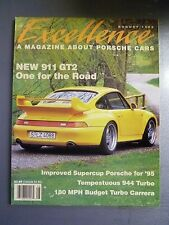 "1995 Porsche Excellence Magazine #55 August 1995 ""New 911 GT2, One for the Road"""