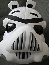 "Oficial Angry Birds Star Wars Grande 12"" Suave Juguete Peluche Cojín Clone Trooper"