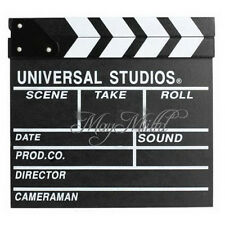 Professional  MOVIE  DIRECTOR CLAP BOARD Film Slate Cut Prop Clapper Clapboard S