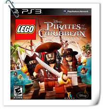 PS3 Games LEGO Pirates of the Caribbean Action Warner Home Video Games