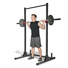 Strength Power Lifting Rack Squat Bench Deadlift Curl Pull Up Cage Weight Stand