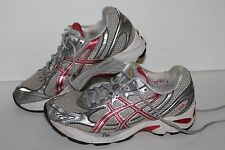 ASICS GT 2150 Running Shoes, #T045N, Silver/Pink, Women's US Size 7.5