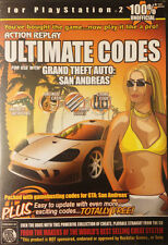 Action Replay Ultimate Codes:  Grand Theft Auto -- San Andreas (Sony PlayStation