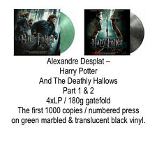 Harry Potter And The Deathly Hallows * SEALED COLOR 4xLP 180 part 1+2 MOVATM