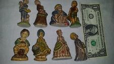 LOT of 8  Large Wade Porcelain Figurines Nursery Favourites Fairy Tales