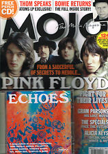 MOJO March 2013 + ECHOES CD Pink Floyd GRAM PARSONS Alicia Keys DAVID BOWIE @New