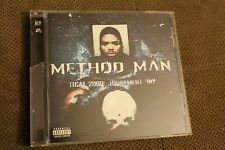 METHOD MAN - 'TICAL 2000: JUDGEMENT DAY' - WU TANG Hip Hop Rap R&B Used Good CD
