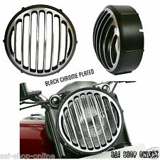 Head Light Grill Customize Black Chrome Plated For Royal Enfield Classic 350