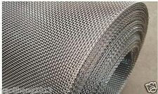 """Stainless Steel Woven Wire Mesh 8 mesh 6"""" x 6"""" Type 304 (filter grading sheet)"""
